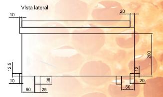 Cuerpo del portanúcleo, vista lateral