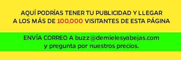 Precios de publicidad DeMielesyAbejas.com
